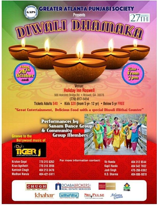 Greater Atlanta Diwali Party
