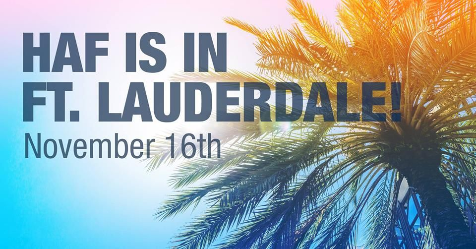 HAF's Annual Ft. Lauderdale Gala