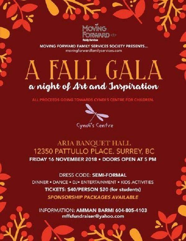 A Fall Gala: A Night of Art and Inspiration