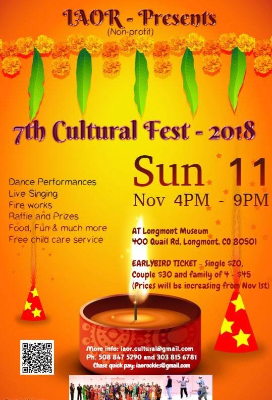 IAOR Diwali Cultural Fest 2018