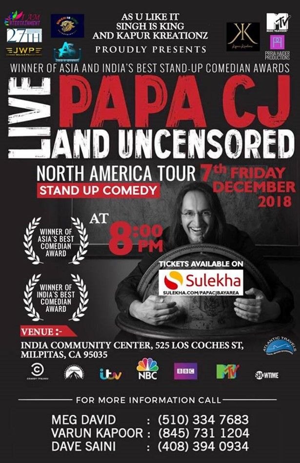 Bay Area - Papa CJ: Live and Uncensored (Stand-up Comedy)