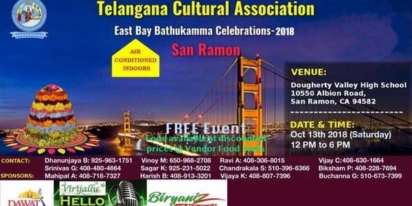 BATHUKAMMA PANDUGA-2018 - Bay Area