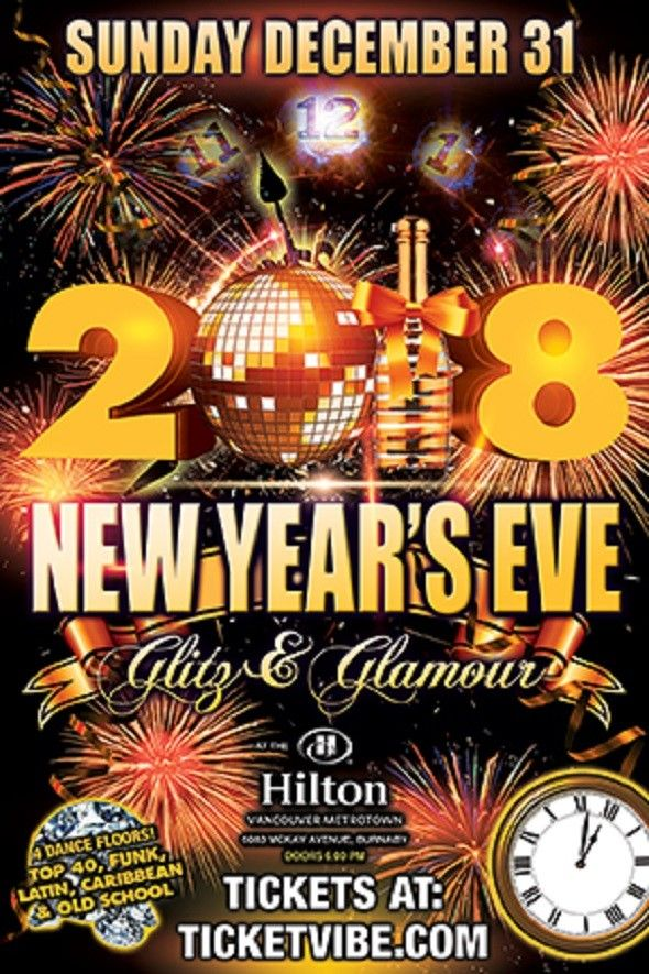 New Years Eve 2018 in Vancouver