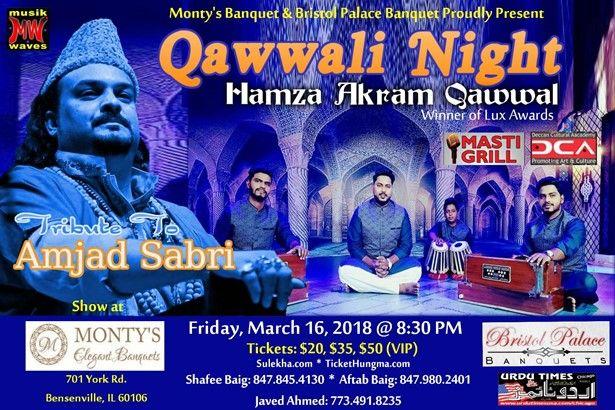 Qawwali Night with Hamza Akram Qawwal