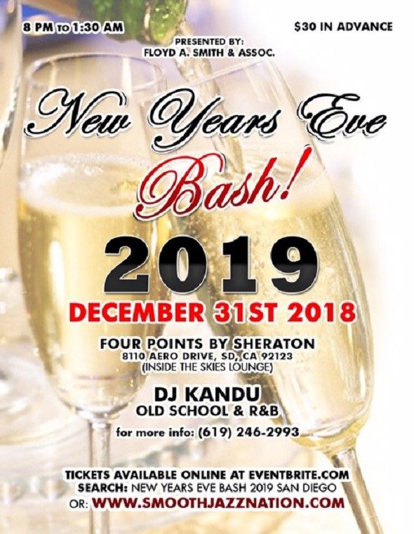NEW YEARS EVE BASH 2019