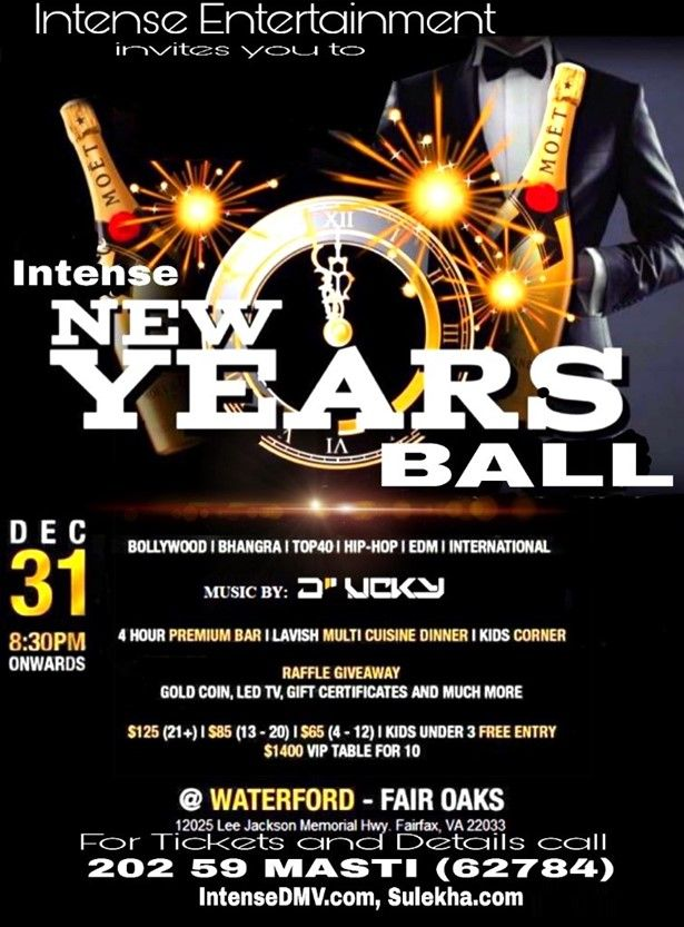 Intense New Years Eve Ball