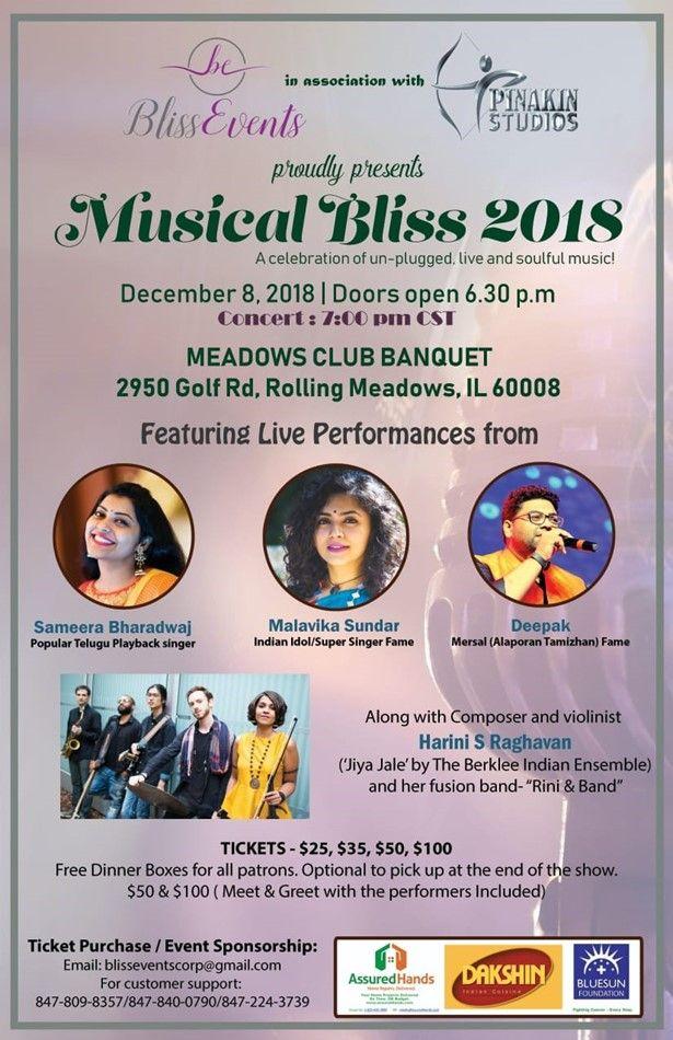 Musical Bliss 2018