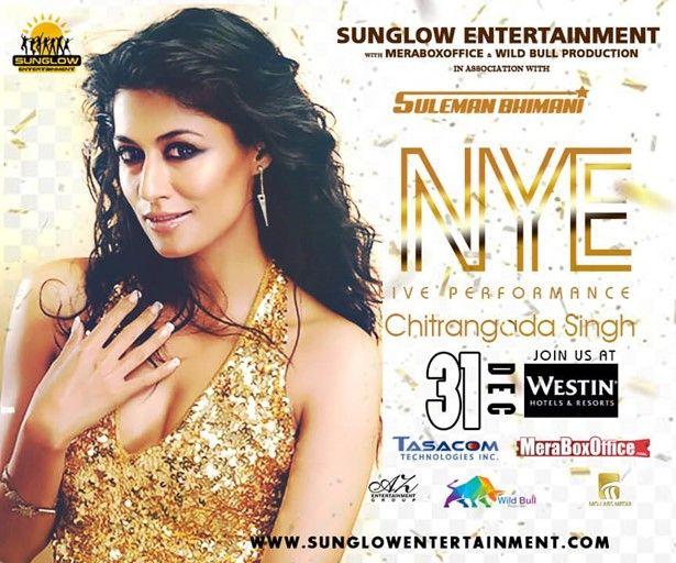 New Years Eve Gala with Chitrangada Singh
