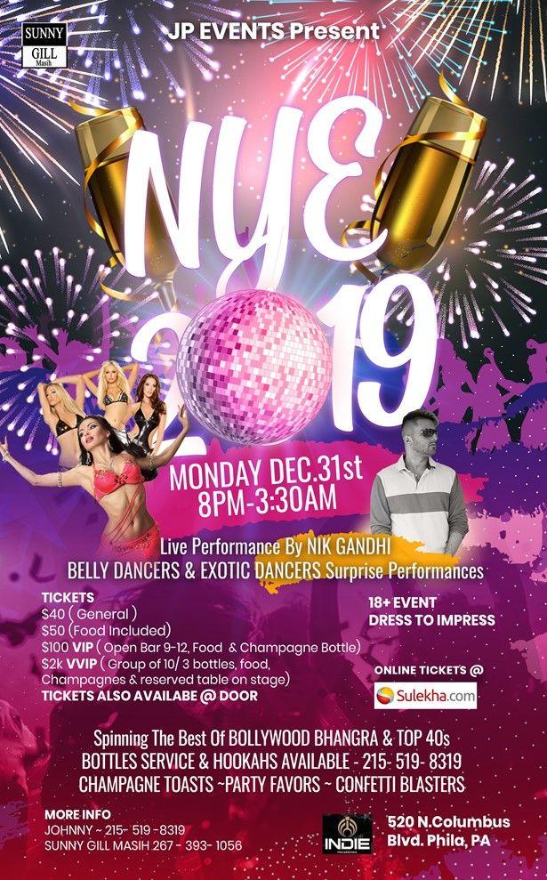 JP Events -NYE 2019