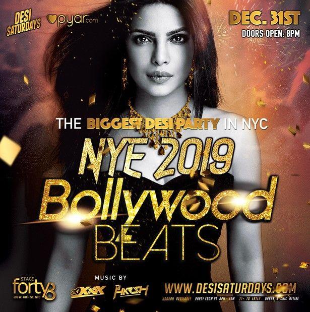 Bollywood Beats - New Years Eve Gala