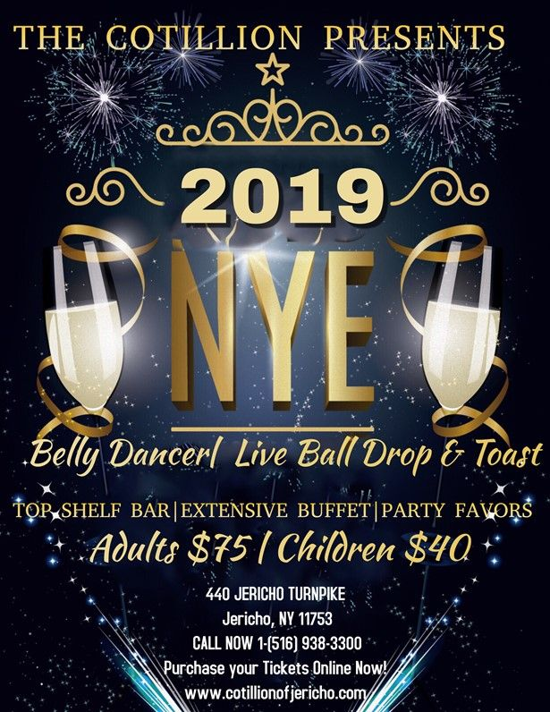 Cotillion's Annual New Years Eve 2019