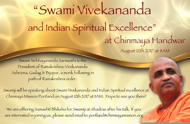 Swami Vivekananda & Indian Spiritual Excellence by Swami Nirbhayananda