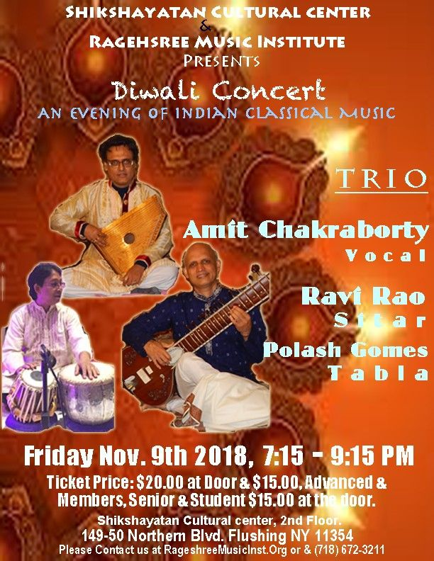 Diwali Concert - An Evening with Indian Classical Music