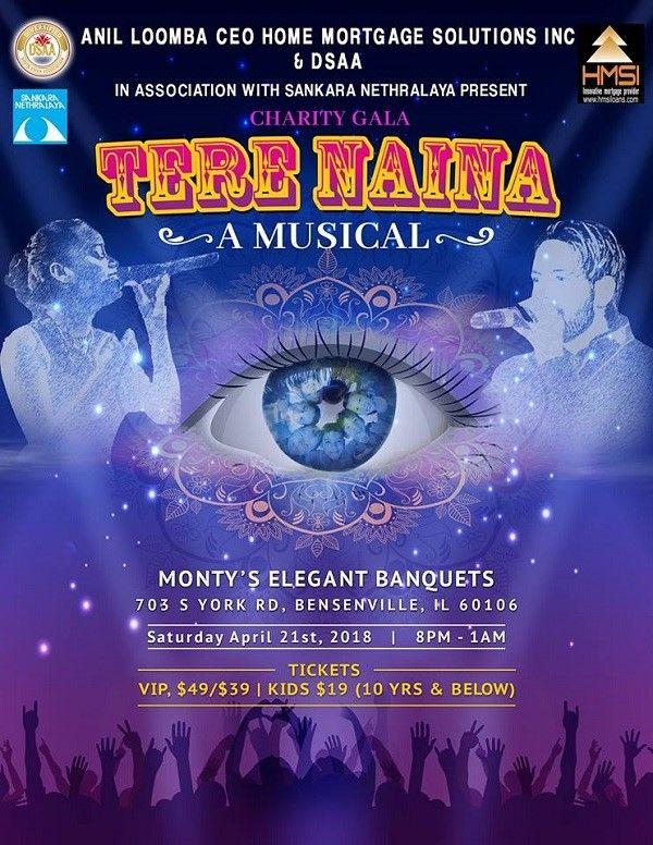 Tere Naina A Musical Charity Gala