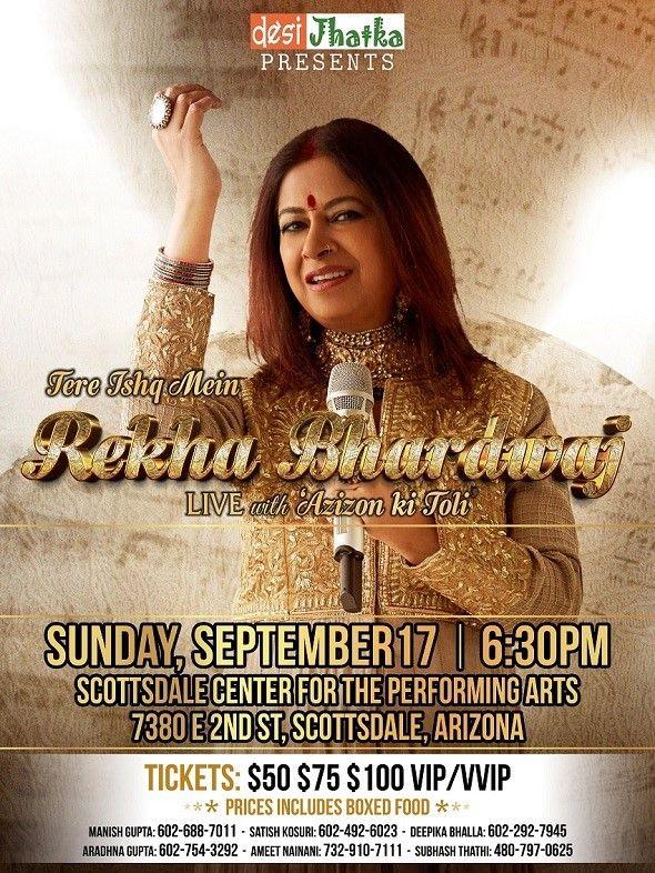 Rekha Bhardwaj Live in Concert