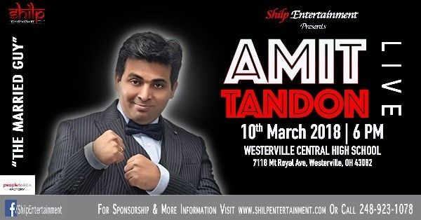 AMIT Tandon - Live in Columbus OH