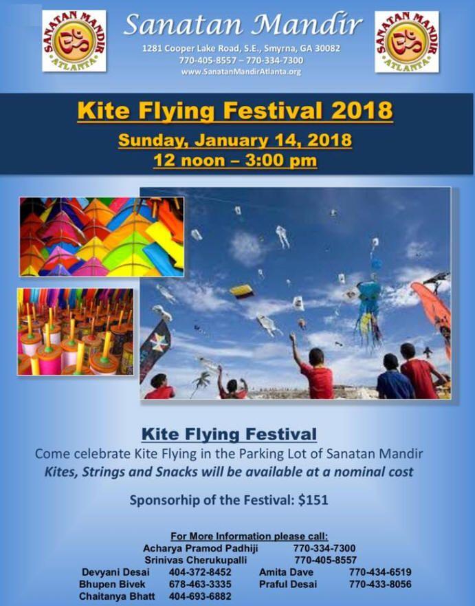 Kite Flying Festival 2018