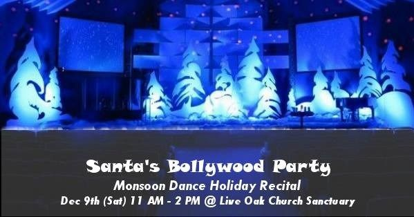Santas Bollywood Party