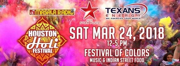 Houston Holi 2018