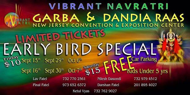 Vibrant Navratri Presents Navratri Garba / Dandiya Raas Celebrations With Sanat