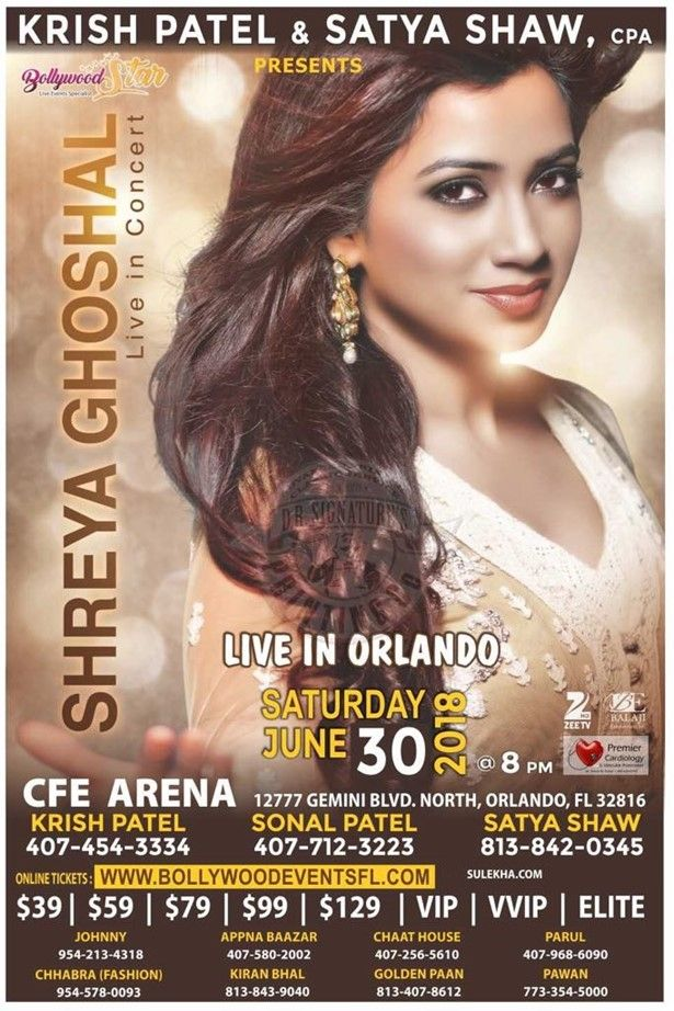 Shreya Ghoshal Live in Concert - Orlando