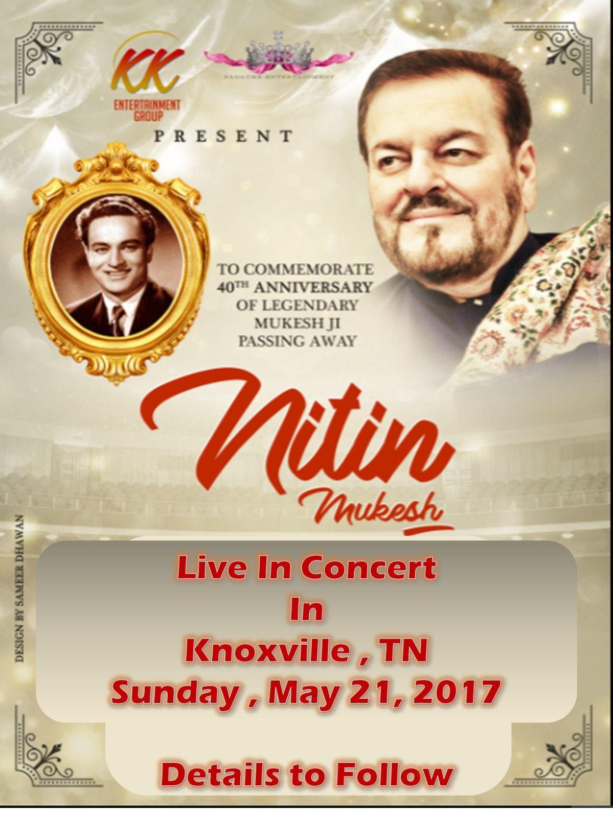 Nitin Mukesh: Live-in Concert