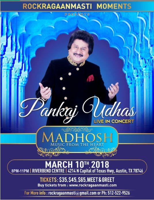 Madhosh - Pankaj Udhas Live Music Concert