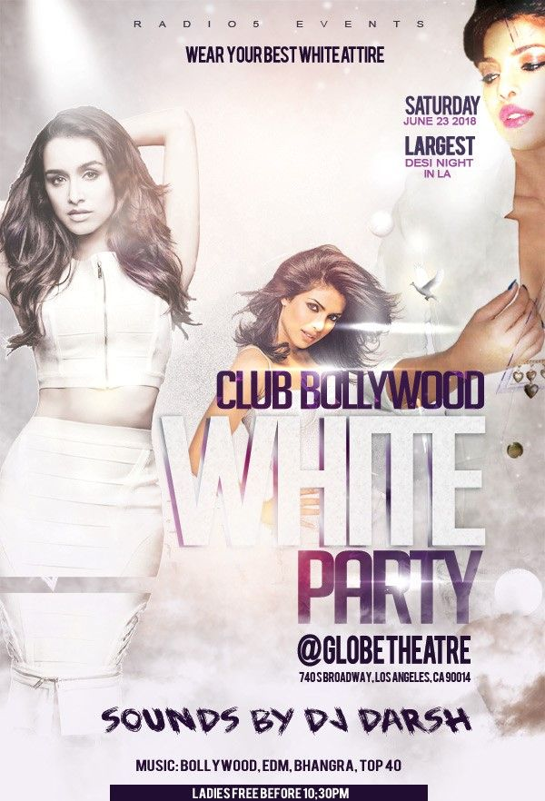 Club Bollywood - White Party