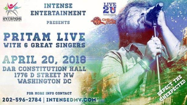 Pritam Live in Concert