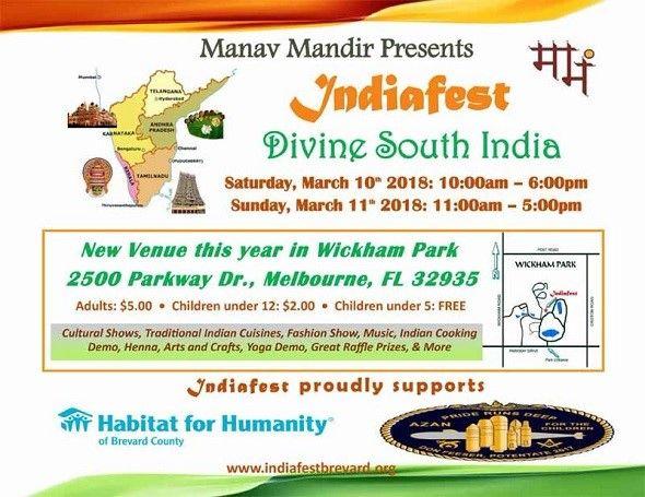 Indiafest Divine South India