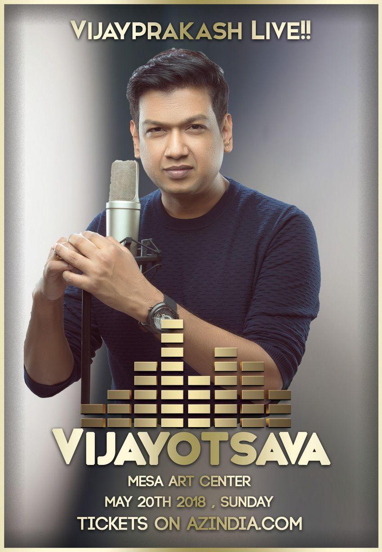 Vijayotsava ( A Vijay Prakash Multi-lingual Live Concert)