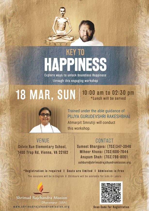Workshop on Key to Happiness