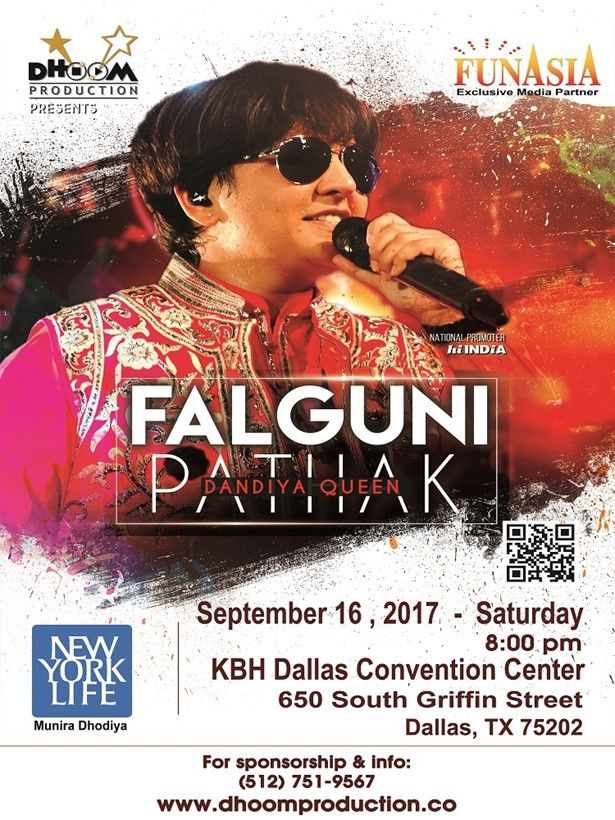 Falguni Pathak Dandiya & Raas Garba Live in Dallas