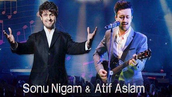Sonu Nigam & Atif Aslam Live in Concert 2017