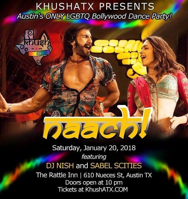 NAACH 2018 - LGBT Bollywood Dance Party