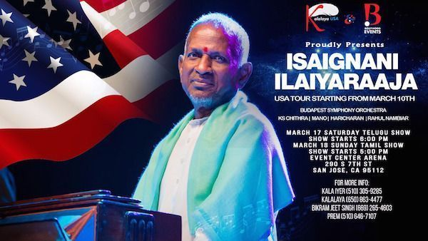 Ilayaraja Exclusive Telugu Live Music Concert 2018 - Bay Area