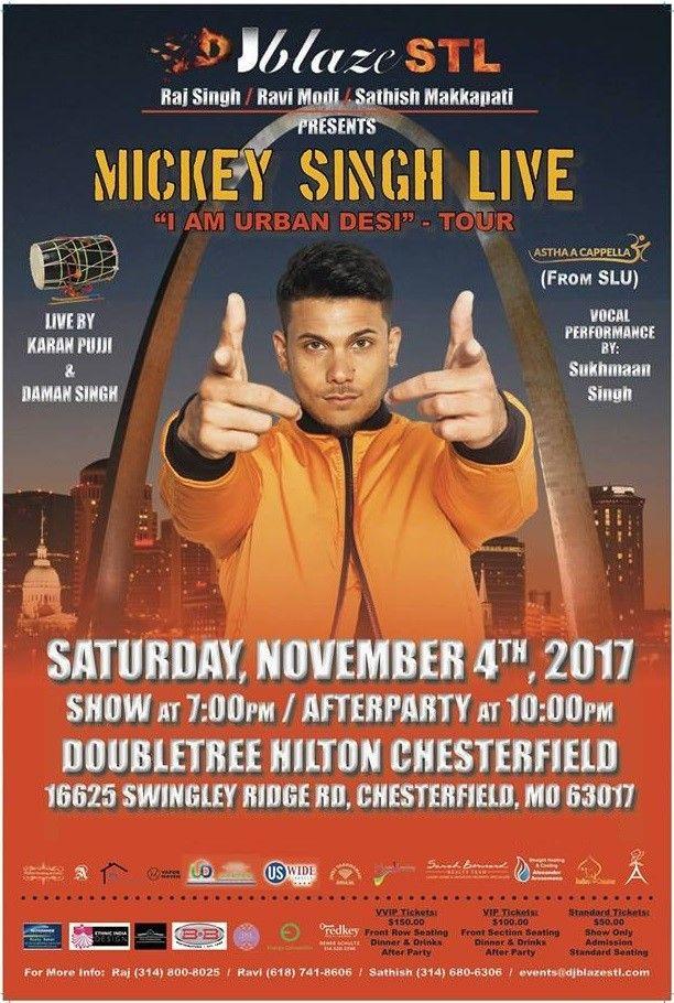 Mickey Singh Live