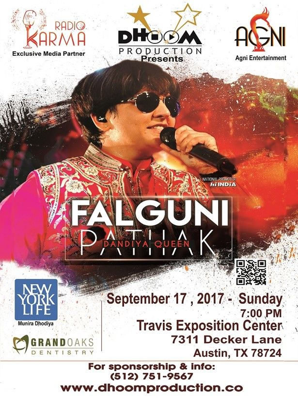 Falguni Pathak Dandiya & Raas Garba Live in Austin