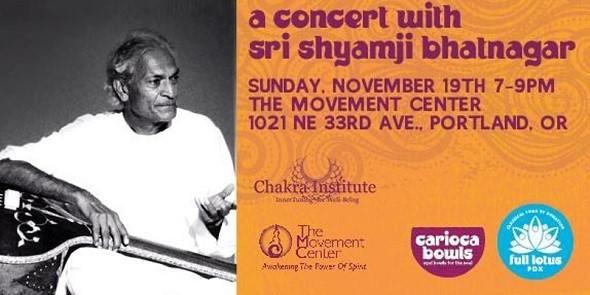 Concert With Sri Shyamji Bhatnagar