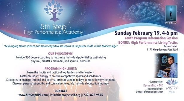 5th Step High Performance Academ - Youth Program Information Session
