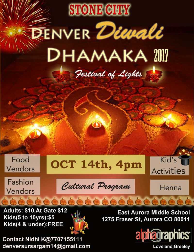 Denver Diwali Dhamaka 2017
