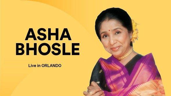 Asha Bhosle Concert in Orlando