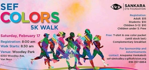 SEF Colors 5K Walk