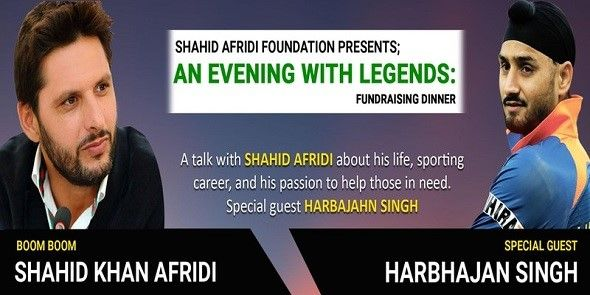 Shahid Afridi Foundation Presents: An Evening With Legends! Chicago
