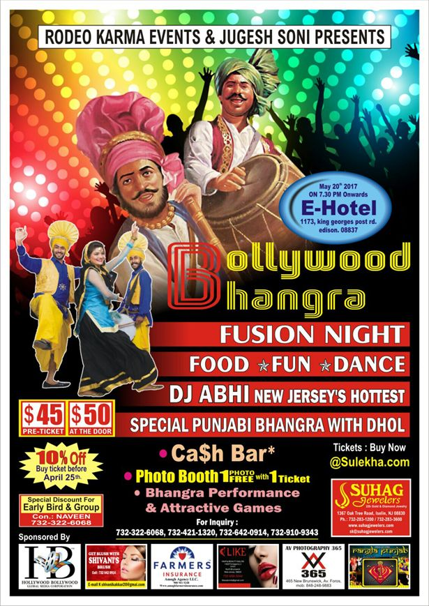Bollywood Bhangra Fusion Night