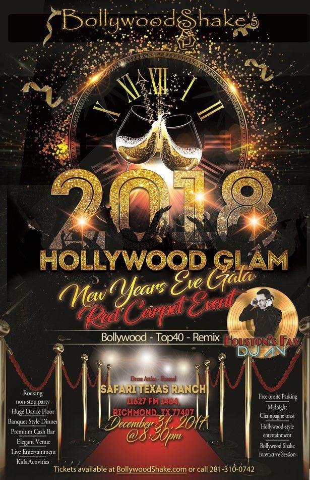 Bollywood Shakes New Years Eve Gala 2018