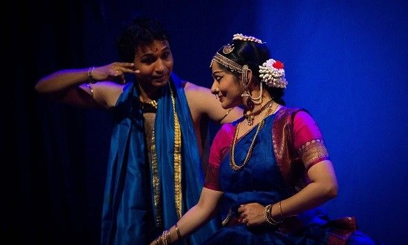Shijith and Parvathy - Bharatanatyam Dance - Organized by Sruti