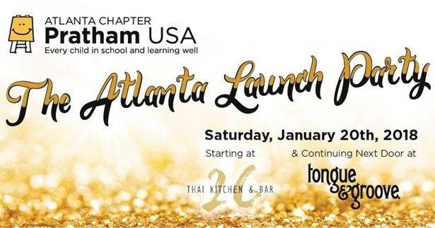Pratham Atlanta Launch Party