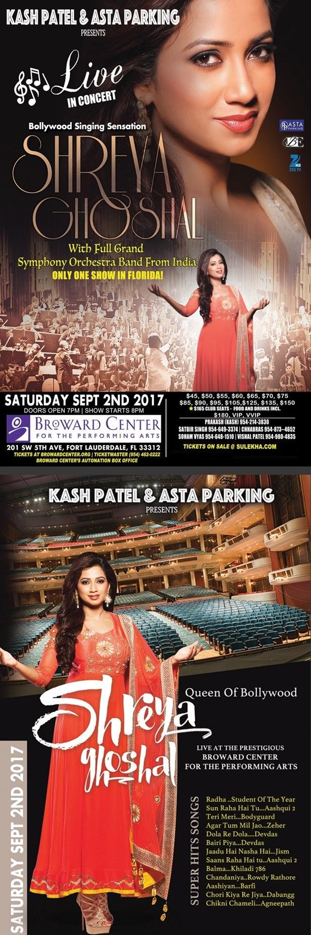Shreya Ghoshal Live In Florida