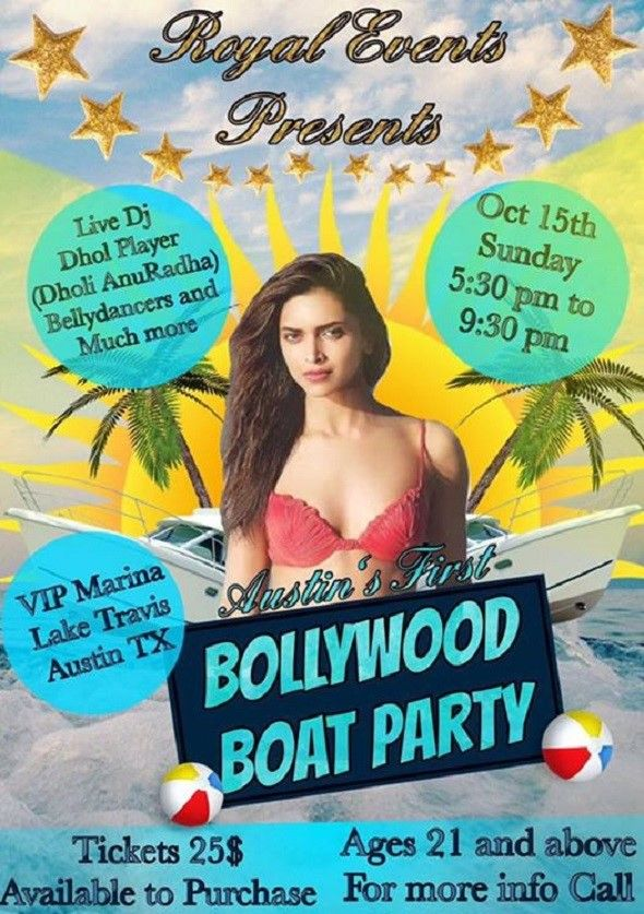 Bollywood Boat Party 2017